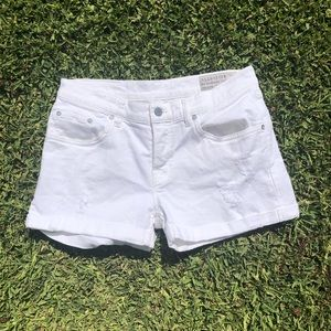 All saints white shorts